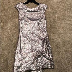 Lavender sequins dress - size 6